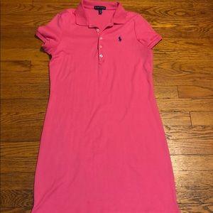 Ralph Lauren Cotton Collared Dress
